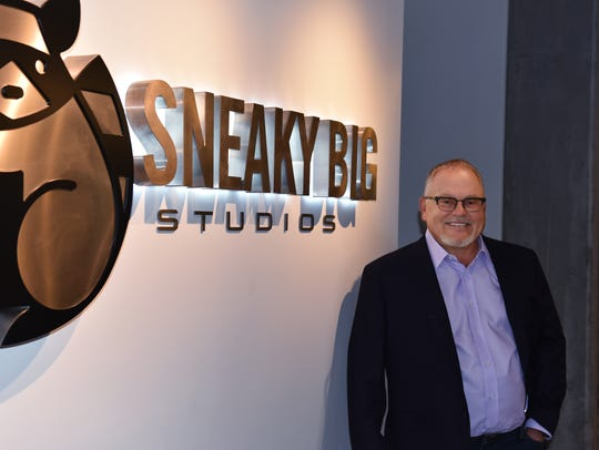 GoDaddy founder Bob Parsons, shown at his Sneaky Big