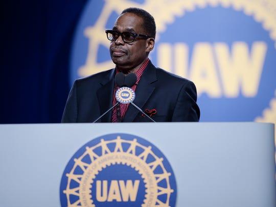 Retired UAW Vice President Jimmy Settles.