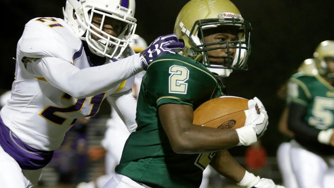 Acadiana running back Jaylen James is one of the Rams' top rushing threats heading into Friday's state quarterfinals road game at Zachary.