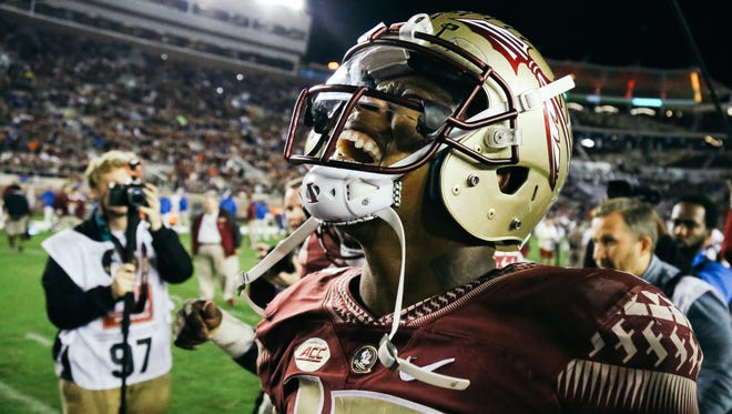 Florida State redshirt sophomore quarterback Deondre Francois hopes to lead his Seminoles to a national championship in 2017.