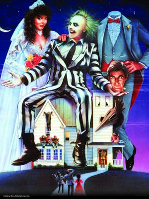 Beetlejuice, a 1988 film by Tim Burton.