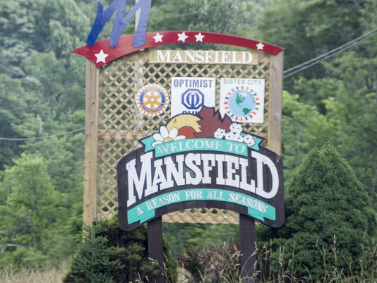 MNJ Mansfield sign stock