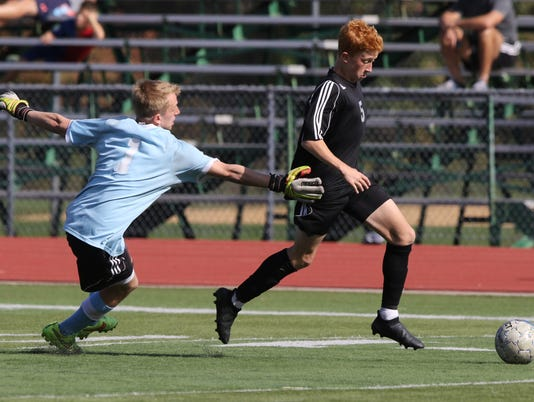 Glen Rock vs Ramapo - Bergen County Boy's Soccer Tournament -