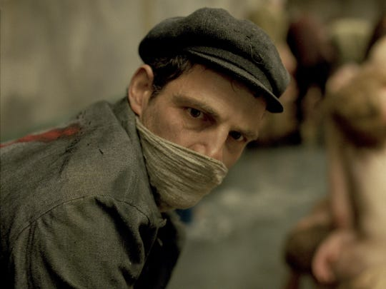 "Géza Röhrig as Saul in ""Son of Saul"""