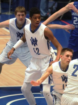 Walton-Verona sophomore Dieonte Miles has made a big impact in his first varsity season, leading the team in scoring and blocked shots.