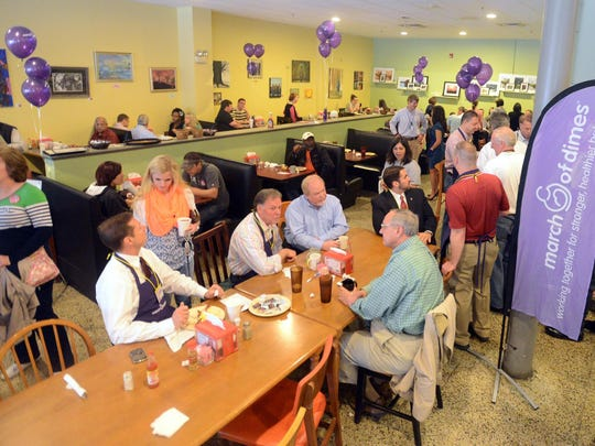 The 2014 Breakfast for Babies benefiting the March of Dimes was held at The Bakers Rack.