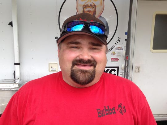 Bubba Knapp, who owns Bubba-Q's Barbecue & Steakhouse,
