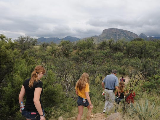 The Foothills Loop is one of the scenic trails at Kartchner Caverns State Park.