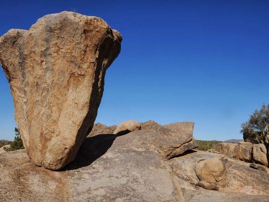 Balanced Rock Trail at McDowell Sonoran Preserve.