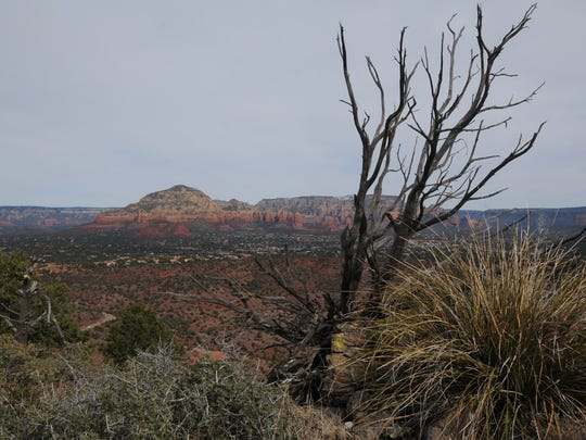 Many prominent red-rock formations, including Capitol