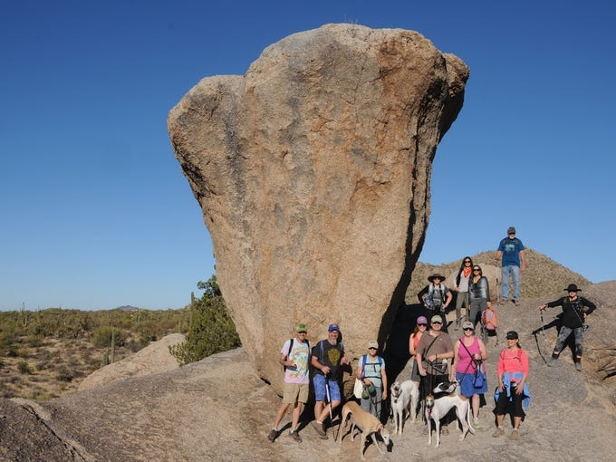 Balanced Rock in McDowell Sonoran Preserve is a popular