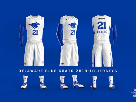 Blue Coats uniforms