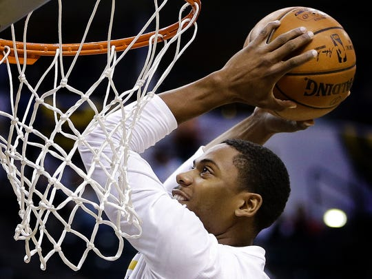 Glenn Robinson III is looking to impress in summer league play.