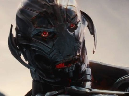 """James Spader provides the voice of Ultron in """"Avengers: Age of Ultron."""""""