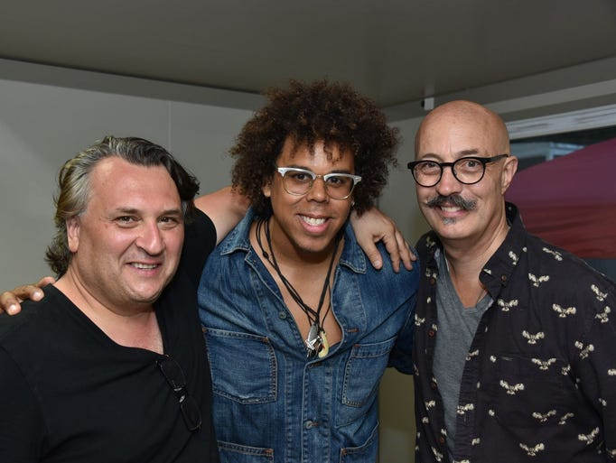 Joe D'Urso, Jake Clemons and Mark Rashotte. Rockland-Bergen