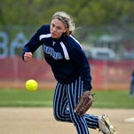 Great Falls High pitcher Hannah Schaffer delivers to the plate.