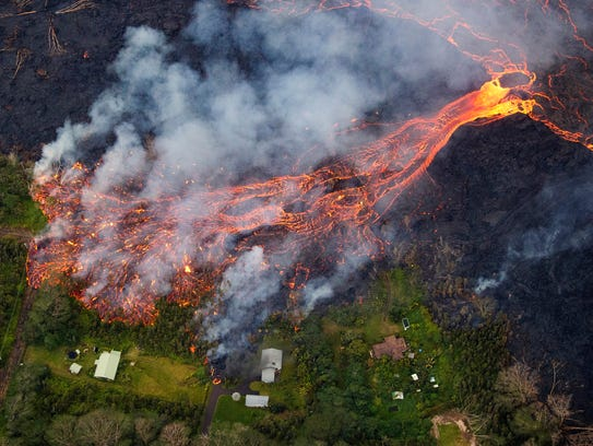 Kilauea's eruption continues, as fissure 8 continues