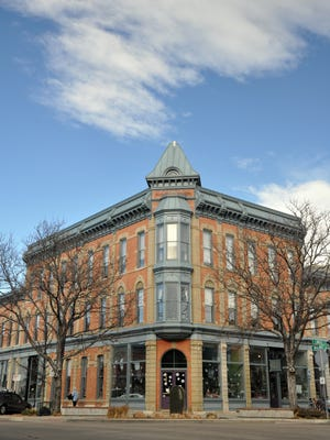 At the corner of Linden and Walnut streets, the Linden Hotel was built in 1882-83 by Abner Loomis and Charles Andrews.