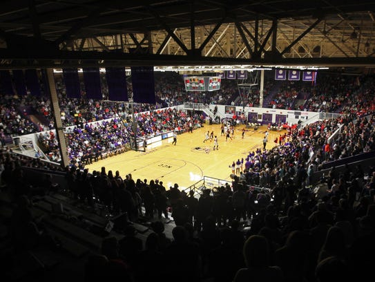 Muncie Fieldhouse was built in 1928, the 7,635-seat