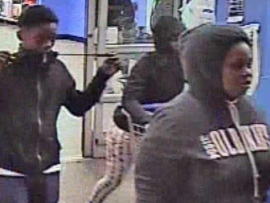 Prattville credit card fraud suspects.