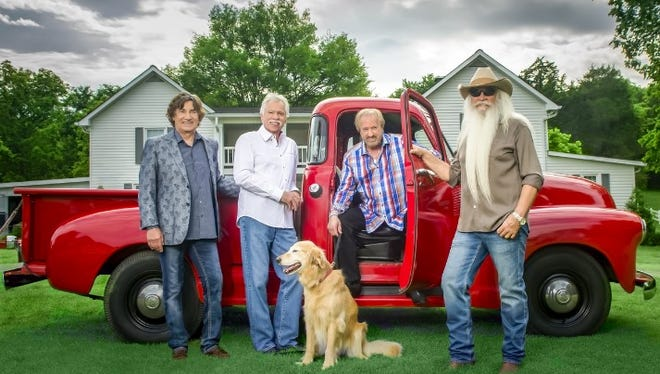 Country and Gospel music legends the Oak Ridge Boys will perform at the American Bank Center Jan. 19, 2017.