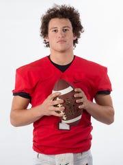 Maryville quarterback Dylan Hopkins