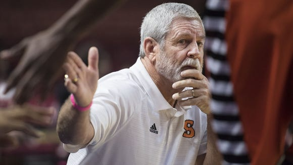 Coach Steve Beasley and his Southside Tigers were No. 1 in the preseason and have remained there most of the season.