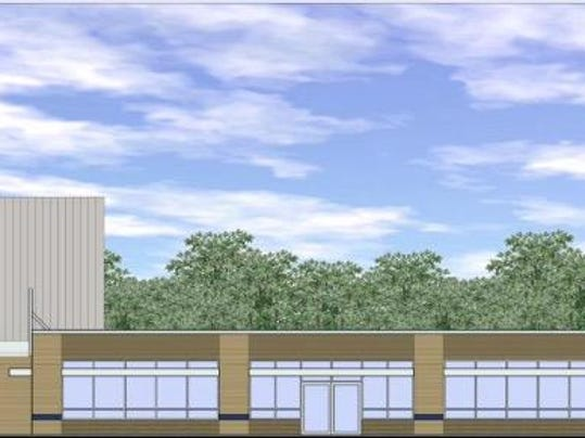 mad fitness center rendering