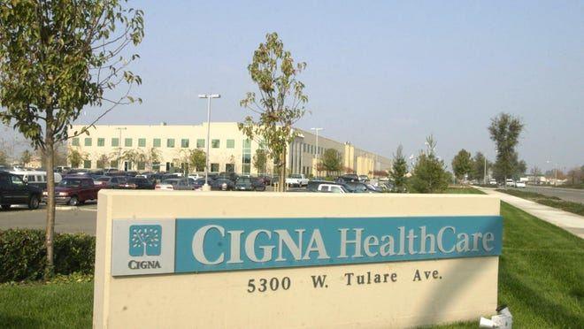 The county-owned Cigna Building, located at 5300 W. Tulare Ave., will house the sheriff's and fire departments.