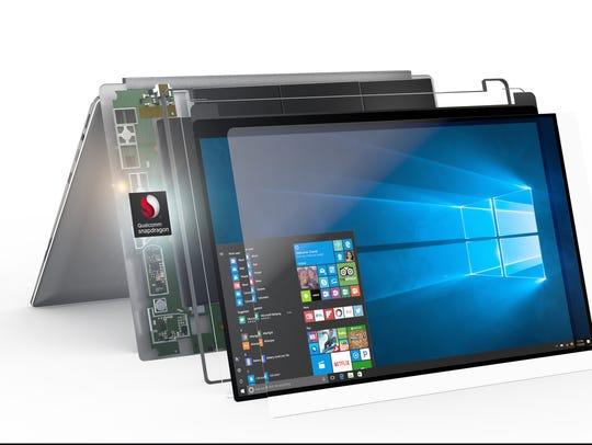 Qualcomm Snapdragon powering Windows 10.