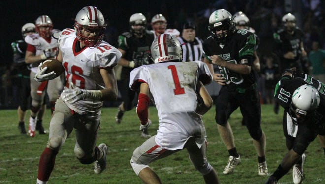 Shelby coach Erik Will believes receiver/defensive end Carter Brooks should be a strong candidate for Ohio's Division IV Player of the Year.