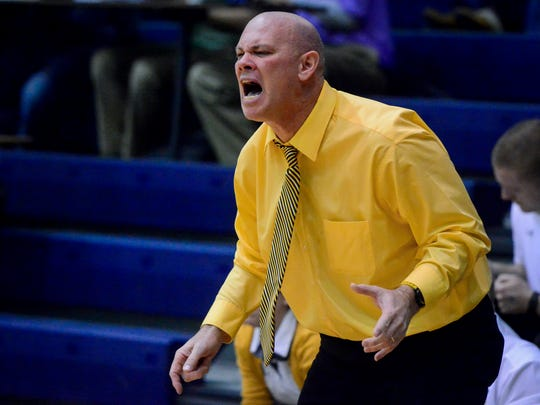 Don Dimoff won 480 games over 22 years as the Red Lion girls' basketball coach. YORK DISPATCH FILE PHOTO