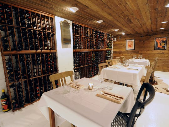 The La Cava wine cellar at Bodegón in Hotel Madrid,