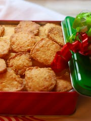 Wrap up a box of Crispy Cheesy Southern Cheese Crackers.