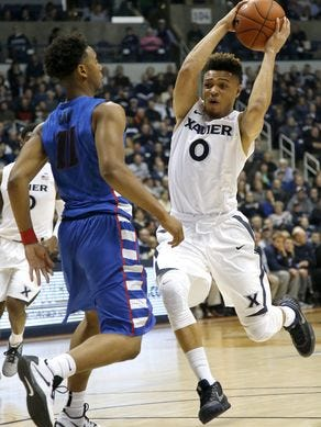 Sophomore point Larry Austin Jr. is transferring from Xavier in hopes of more playing time elsewhere.