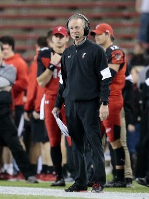 Some University of Cincinnati football fans are calling for head coach Tommy Tuberville to be fired, as the slumping Bearcats have fallen to 4-7.