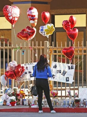 May Kieu and Dorothy Dutiel, both 15, died in a murder-suicide Feb. 16 at Independence High School in Glendale.  The teens were found next to each other with a suicide note, and a handgun was found nearby, police said. Police later issued a statement saying detectives believed the girls had been in a relationship and that one fatally shot the other before shooting herself.