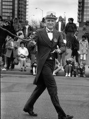 Mayor William Hudnut served as honorary leprechaun