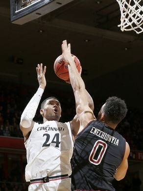 Kyle Washington and the Cincinnati Bearcats will try to extend their winning streak to 10 games Saturday at Tulane.