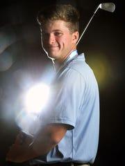 Garrett Barber of The Pine School, all-area boys golf