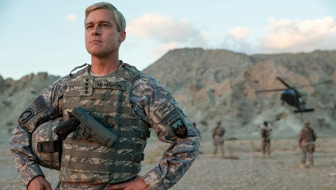"Pitt stars in ""War Machine,"" which is based on the book ""The Operators,"" which chronicled Gen. Stanley McChrystal's short-lived stewardship of the Afghanistan war."