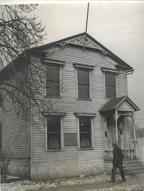 The house Ulysses S. Grant lived in during his time