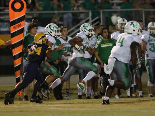 Fort Myers takes on Lehigh in high school football on Thursday, September 28, 2017, at Lehigh Senior High School.