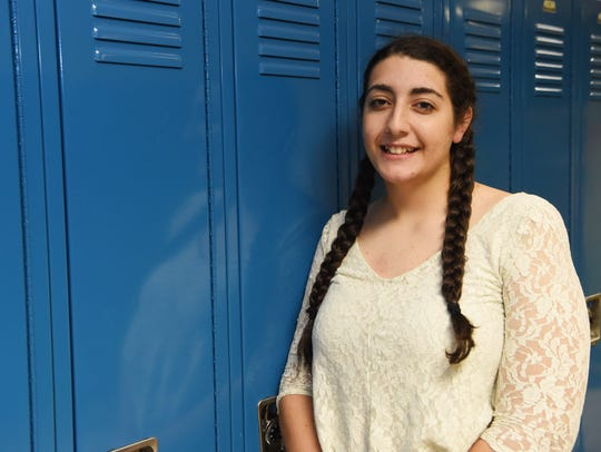 Coryne DeMattio, 15, is sophomore at Millbrook High