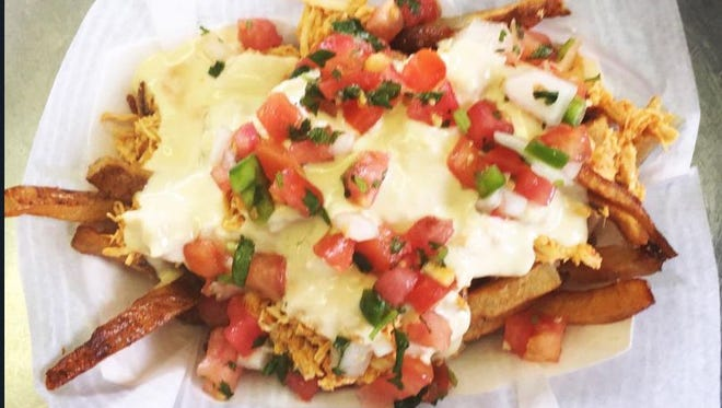 Mexican Truck Fries