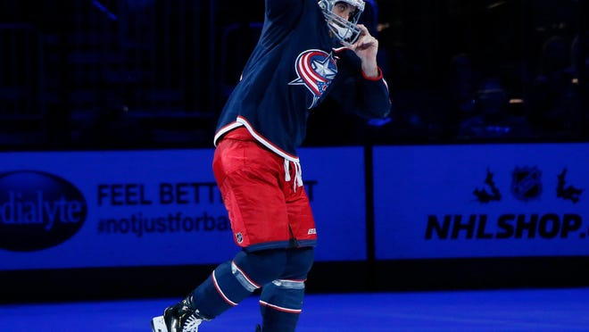 Blue Jackets forward Nick Foligno knew what to wear when he is introduced was one of the three stars after a home win against the Penguins in November. He was less sure about how to pack for a road trip that could keep the Blue Jackets away from Columbus for anywhere from 12 days to more than two months.