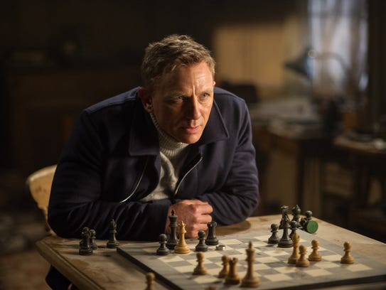 Daniel Craig was last seen as James Bond in 2015's