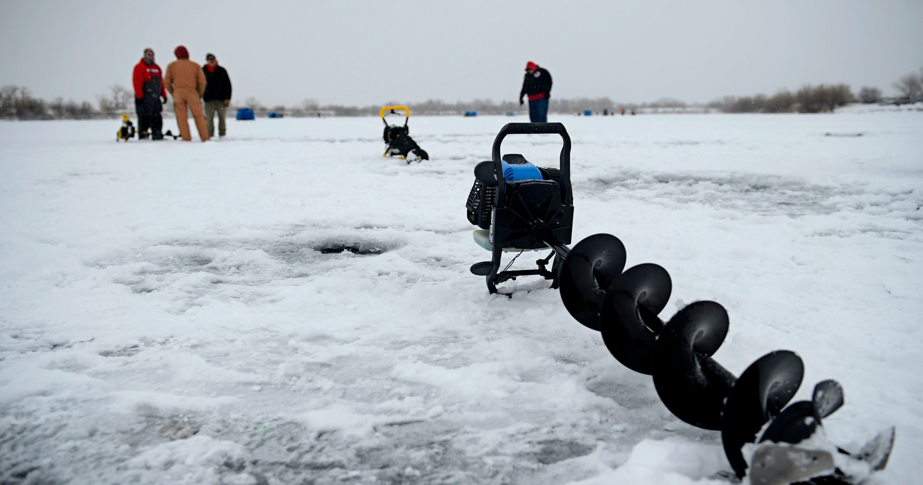 Try ice fishing at Scheels demo day