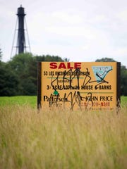 New Castle County offered up to $17,431 per acre -- several times higher than the state average -- for development rights on a recently subdivided farm near U.S. 13 on Port Penn Road. Funds were unavailable to move the deal through a federal subsidy program, officials said, but critics questioned county use of private invitations, rather than a public call for applications, to pick farm preservation candidates. County officials have said their picks were intended to head off development along semi-rural Port Penn Road.