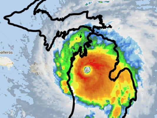 Irma Michigan